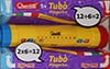 Quercetti tubo multiplication and division roller