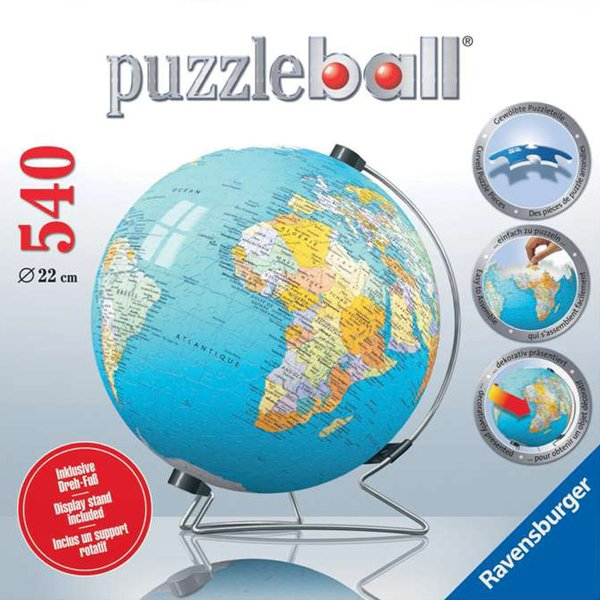 3d earth jigsaw puzzle ball of the planet earth 9 inch spherical globe showpiece collectable ball mappe-du-monde-3d