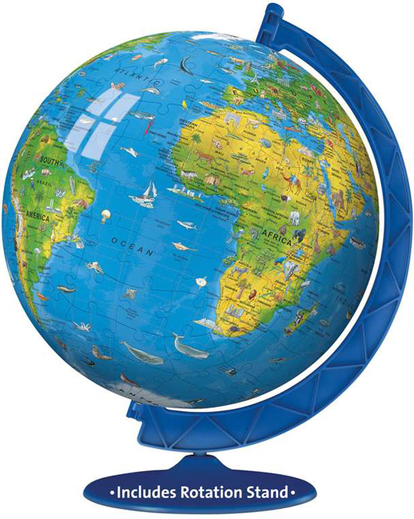 3d childrens earth extra large jigsaw puzzleball of the planet earth 8 inch spherical globe showpiec childrens-earth-puzzleball-ravensburger-3d-globe