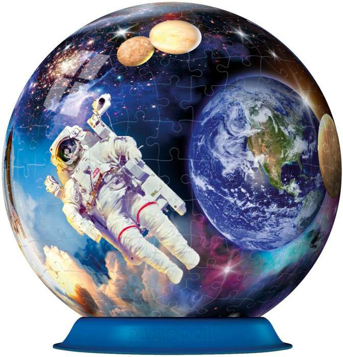 outer space globe jigsaw puzzleball of space 6 inch spherical globe showpiece collectable ball Outer-Space--puzzleball-ravensburger