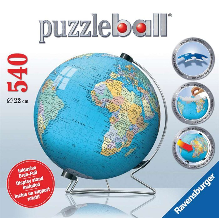 Exhibition Stand Crossword Clue : Ravensburger jigsaw puzzle the earth display stand