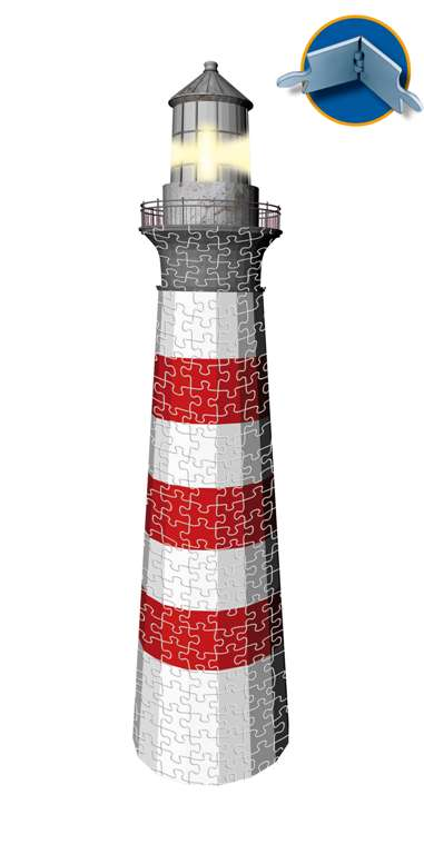 3d jigsaw puzzle of a lighthouse by ravensburger 3D wrebbit is dead and ravens is taking over where  lighthouse-ravensburger-3d