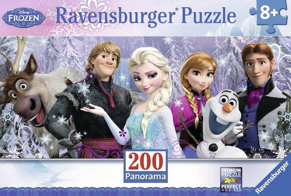 200 pieces jigsaw puzzle by ravemsburger, frozen friends elsa anna olaf frozen-friends