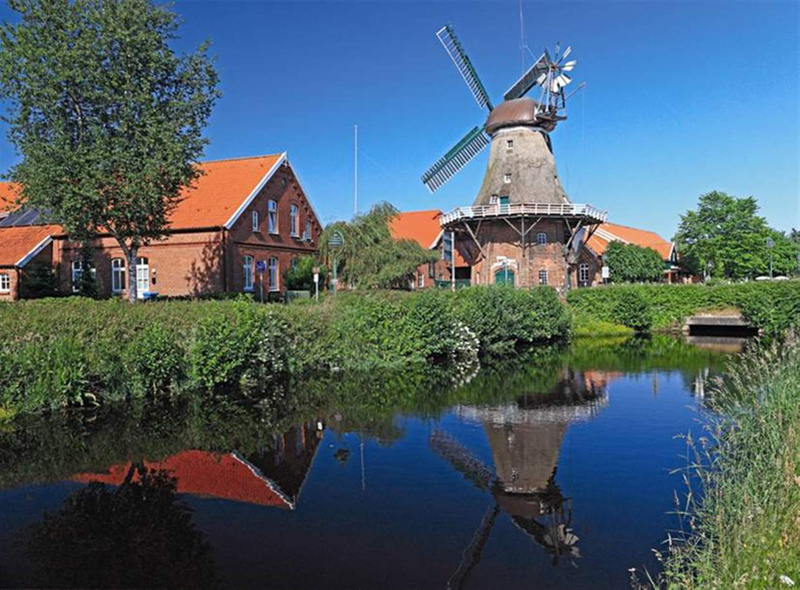 windmill landscape photograph puzzle ravensburger 500 pices perfecrt gift idea windmill-landscape-500-puzzle