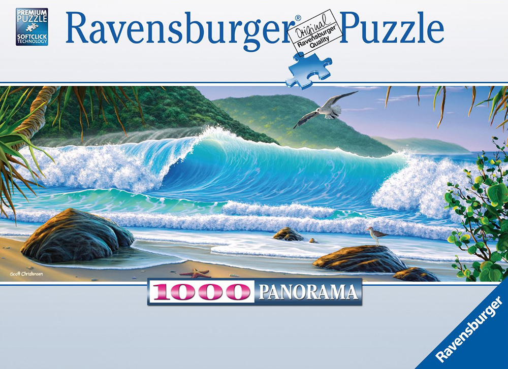 catch a wave by scott christensen 1000 piece puzzle ravensburger image catch-a-wave