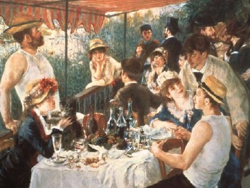 Luncheon of the Boting Party 1000Piece JigsawPuzzle painted by PierreAuguste Renoir Ravensburger luncheonoftheboatingparty