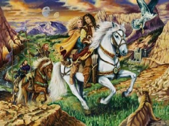 Legend of Heroes fantasy art by Legacy of Runes Jigsaw Puzzle made by Ravensburgher legendofheroes