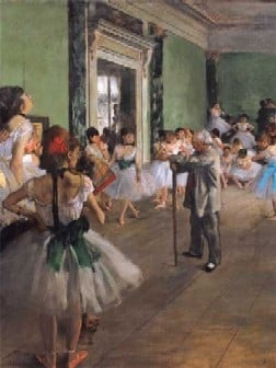 Ravensberger Jigsaw Puzzle 1000 Pieces by Hilaire Germain Edgar Degas of his Dancing Class painting thedancingclass