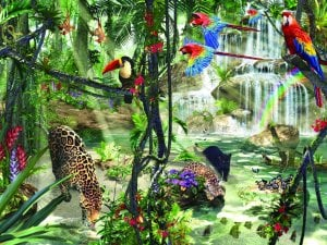Ravesburger JigsawPuzzle 1000 pieces TropicalImpressions DavidPenfound beautiful colors 155088 tropicalimpressions1000