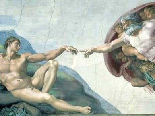 Michelangelo di Lodovico Buonarroti Simoni The Creation of Adam Ravensburger Jigsaw Puzzle 1000 thecreationofadam