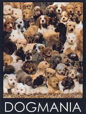 Dogmania Ravensburger Jigsaw Puzzle 1000 Pieces # 156306 made by Ravensberger Germany Games & Puzzle dogmania