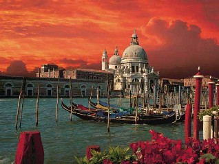 Grand Canal in Venice 1000 Piece Jigsaw Puzzle by Bildarchiv Kirsch for Ravensburger Puzzles canalegrandevenice