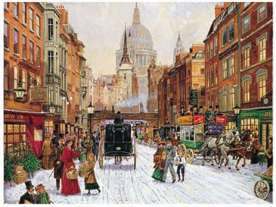 Saint Paul's Cathedral & Ludgate Hill Ravensburger JigsawPuzzles 1000 pieces stpaulscathedral