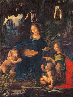leonardo davinci virgin ofg the rocks dan browns da vinci code painting davincivirginoftherocks