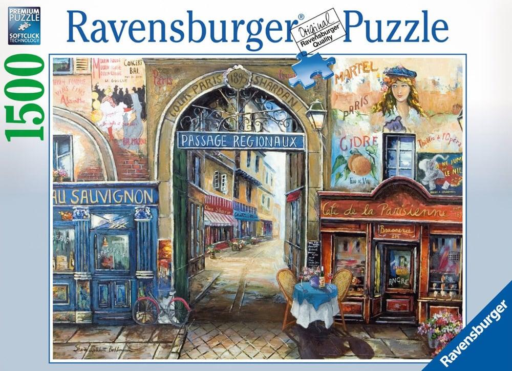 passage to paris eiffel tower fireworks jigsaw puzzle 1000 pieces ravebnsburger germany passage-to-paris