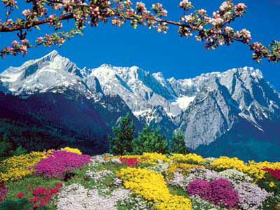 Garmisch Patenkirchen, Germany Alpine Landscape 1500 piece jigsaw puzzle manufactured by Ravensburge alpinelandscapegermany