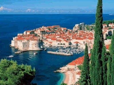 Dubrovnik croatia adriatic sea 1500 piece jigsaw puzzle made by ravensburger games & puzzles adriaticsea
