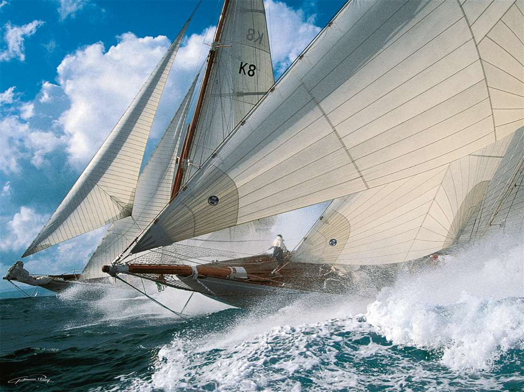 Ravensburger Puzzle Jigsaw sailing adventure photograph by guillaume plisson sailing-adventure
