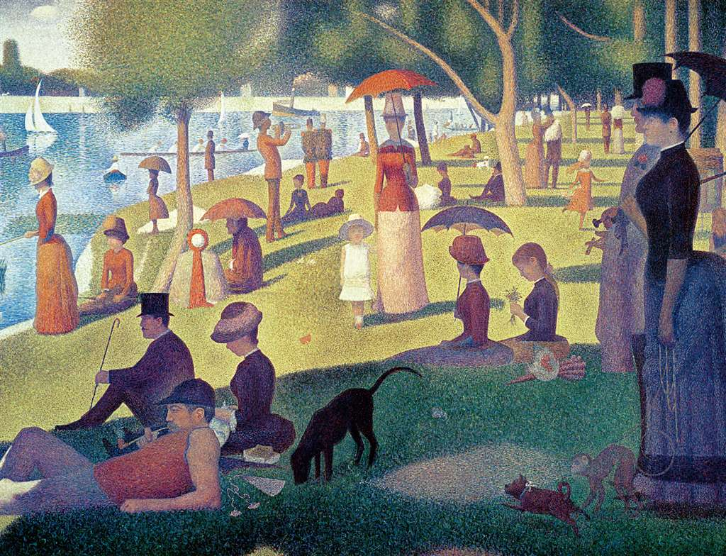 Painting Sunday Afternoon on the ISalnd of LA Grande Jatte Jigsaw Puzzle manufactured by Ravensburge sunday-afternoon-island-grande-jatte