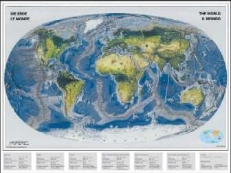 OceanicMap 2000Piece JigsawPuzzle by RavensbergerPuzzles # 166497 oceanicmap