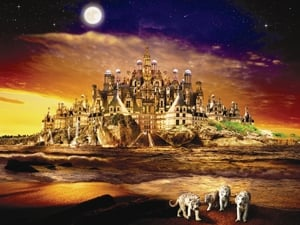 ChayanKhoi Mysterious City Fantasy Art 2000 Piece Jigsaw Puzzle by Ravensburger Puzzles Germany mysteriouscity