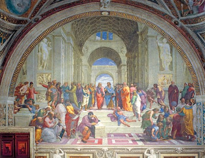 Raphaels painting School of Athens Jigsaw Puzzle manufactured by Clementoni Jigsaw Puzzles Italy school-of-athens-raffaello