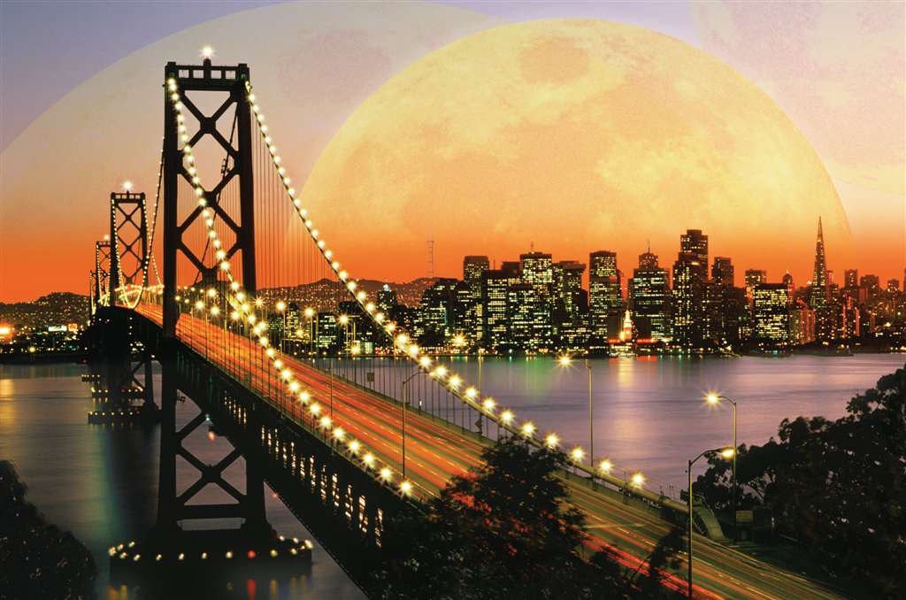 san francisco at night 3000 piece jigsaw puzzle by ravensburger soft click technology premium puzzel san-francisco-at-night