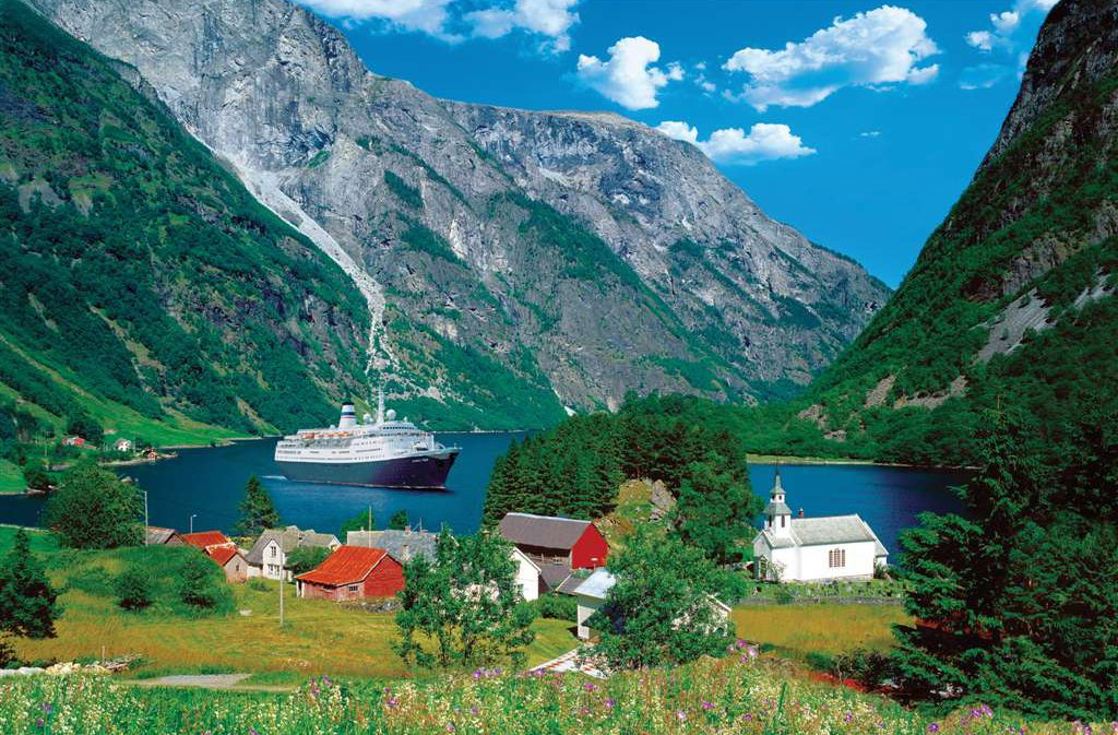 fascinating norway 3000 piece jigsaw puzzle by Ravensburger gorgeous scenery photography fascinating-norway