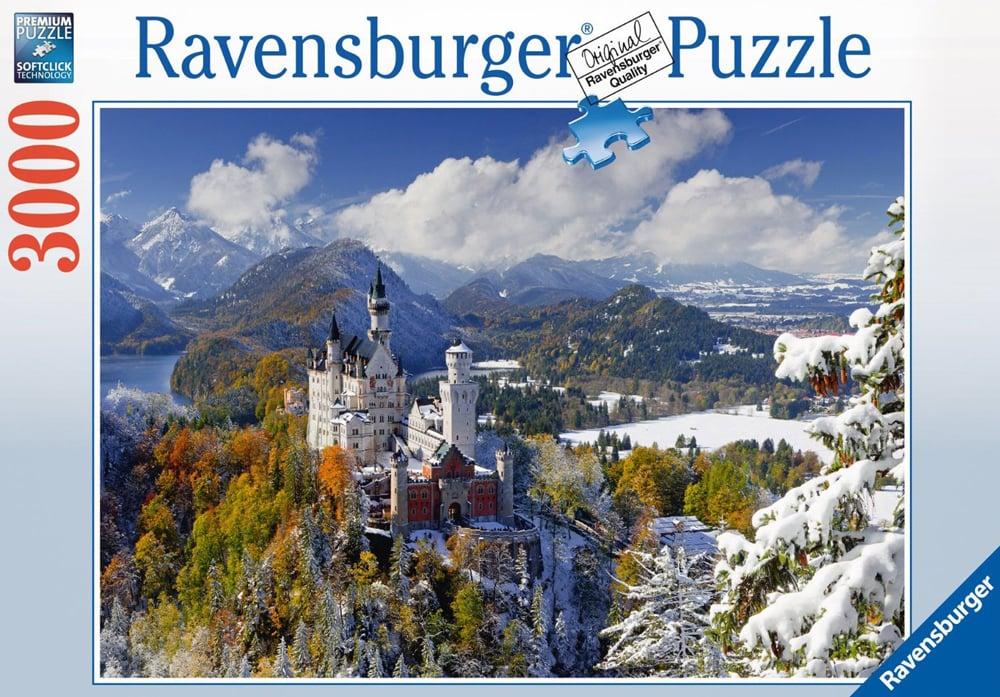 Neushwanstein Castle in Winter 3000Piece JigsawPuzzle by Ravensburger Germany neuschwansteincastleinwinter-3000