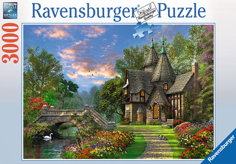 Ravensberger Puzzel 3000Pieces tranquilcountryside Fantasy Artwork JigsawPuzzel # 170692 dominicdavi tranquil-countryside
