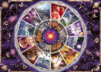 JigsawPuzzel Ravensberger Signs of the Zodiac 12 constellation astrological jigsaw puzzle chart 9000 signsofthezodiacastrology12constellations