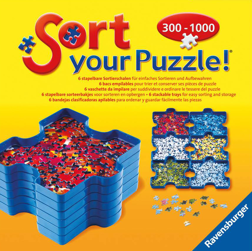 sort your puzzle and transport your puzzle while in progress stackable trays sort-your-puzzle