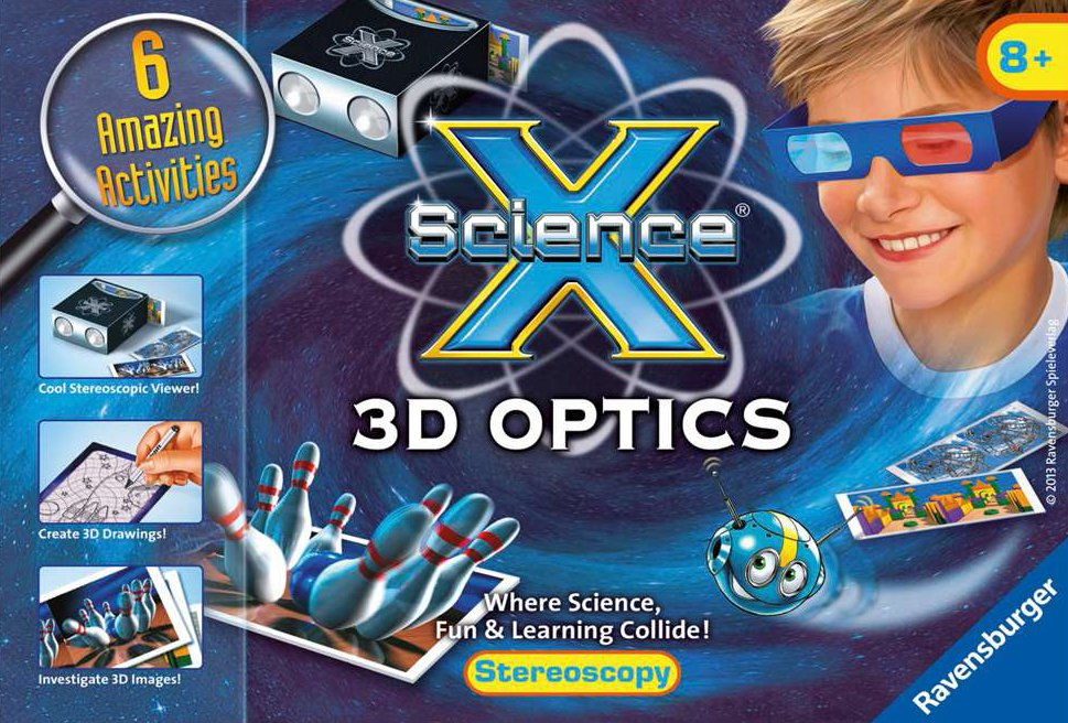 3D Optics science activity with 6 amazing activities by ravensburger 3d-optics