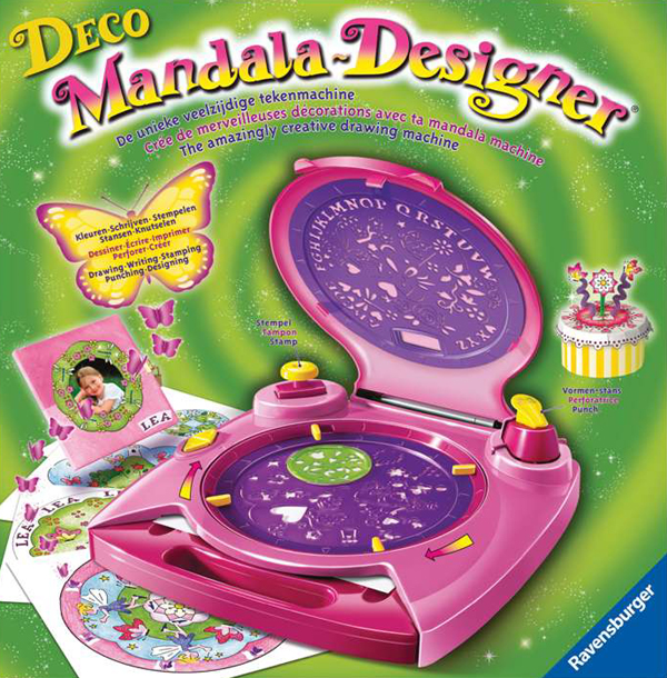 Deco Mandala Designer! The Amazingly Creative Drawing Machine, Made by Ravensburger # 186860 deco-mandala-designer