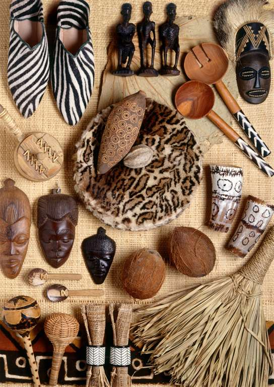 african artifacts by andrea tilk 1000 Piece Puzzle by RavensburgerJigsawPuzzles african-artifacts