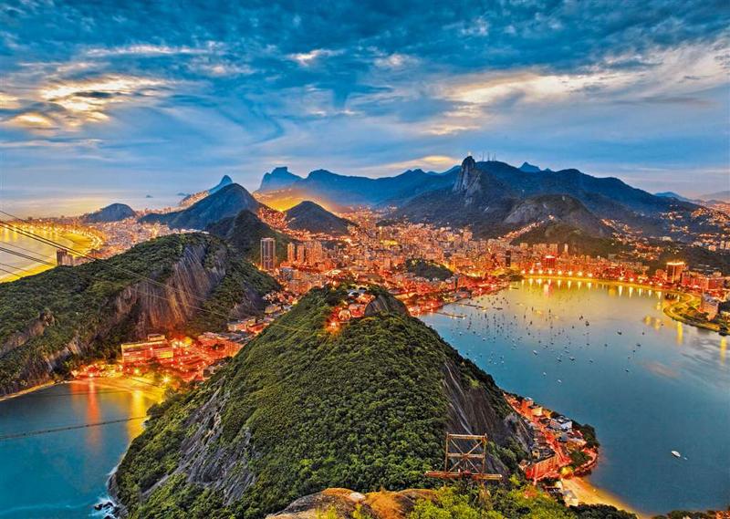 Guanabara Bay, Rio de Janeiro photograph jigsaw puzzle ravensburger puzzle guanabara-bay