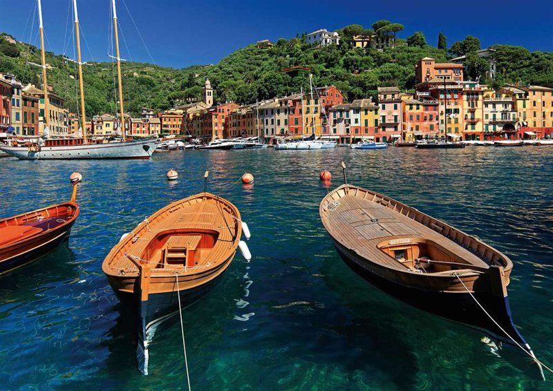 harbor in portofino italy Ravenburger JigsawPuzzle 1000 Pieces by Ravensberger Games & Puzzles Germa harbor-in-portofino-italy