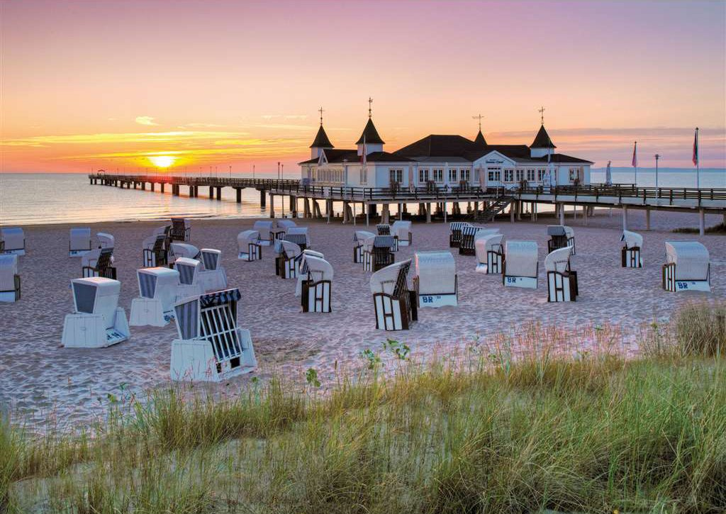 baltic sea resort of ahlbeck usedom photo beach jigsaw puzzle ravensburger puzzle 191123 baltic-sea-resort-of-ahlbeck