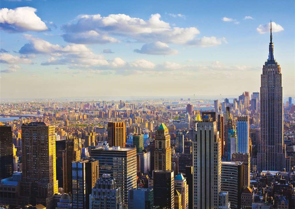 manhattan in the morning new york city photographer bildagentur huber ravensburger jigsaw puzzle, 10 manhattan-in-the-morning