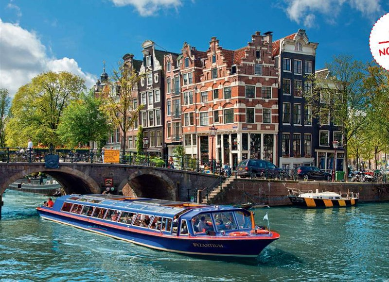 Jigsaw Puzzle by Ravensburger 1000 Pieces of Canal Tour in Amsterdam canal-tour-amsterdam