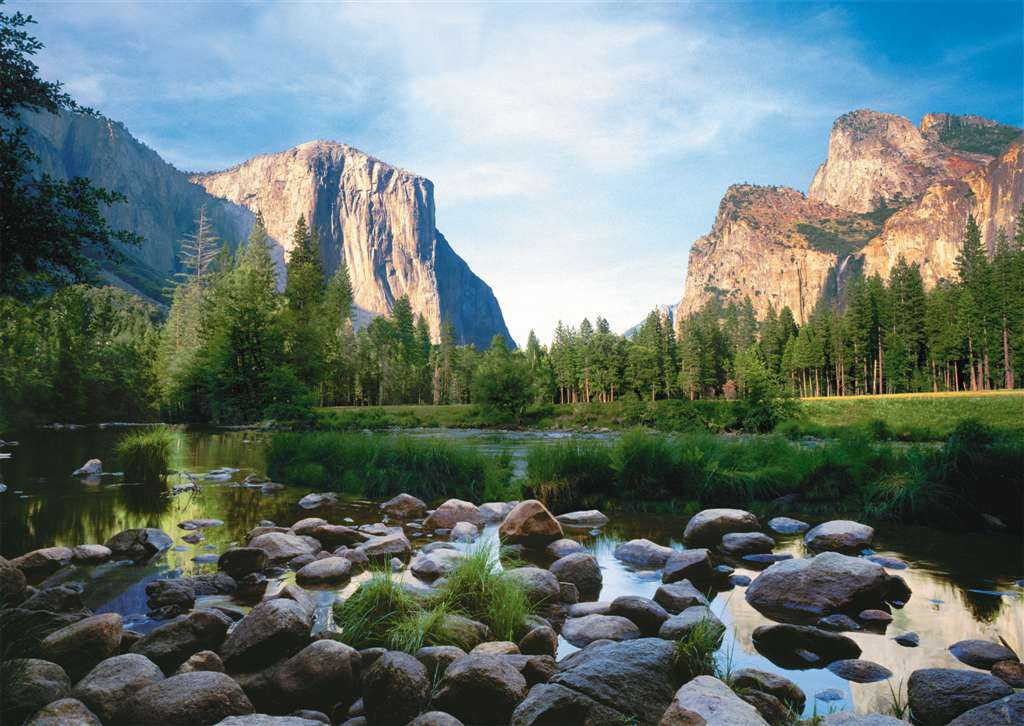 yosemite valley phito by robert cushman hayes puzzle ravensburger 1000 pieces yosemite-valley