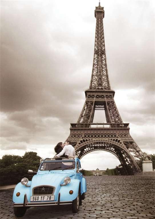 romantic paris eiffel tower jigsaw puzzle, ravensburger, 1000 pieces, antonie serra romantic-paris-eiffel-tower