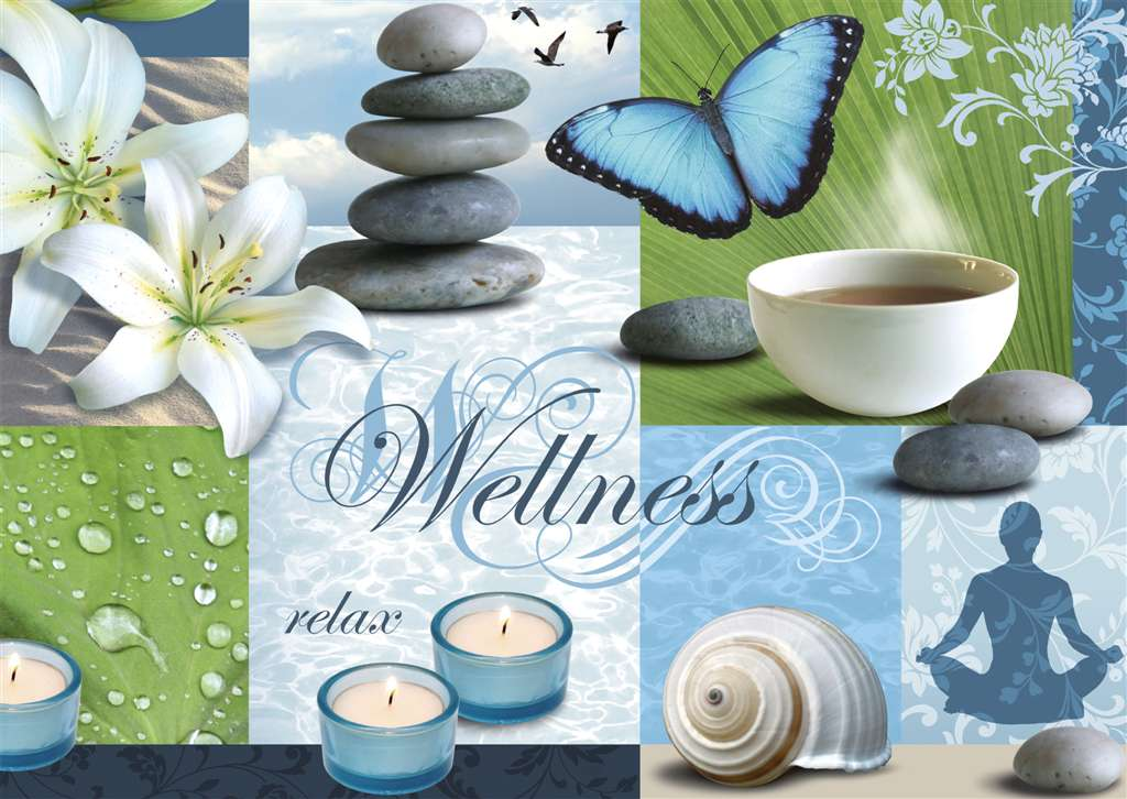 Ute Nuhn Inner Wellness Relaxation 1000 Pieces Jigsaw Puzzle by Ravensburger Puzzles & Games # 19257 inner-wellness-relax