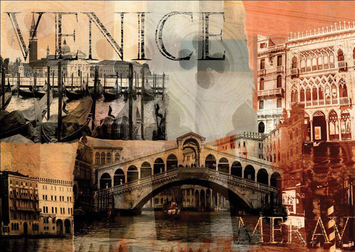 nostalgic venice scenery of venice 1000 Piece puzzle by Ravensburger 2010 premium puzzel softclick t nostalgic-venice