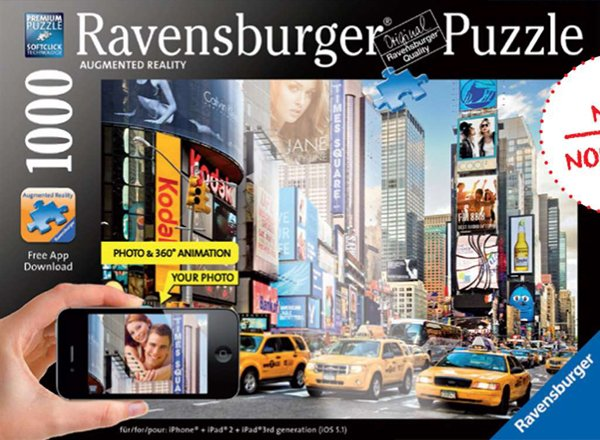 Colourful Activity at Times Square, new york city photographer bildagentur huber ravensburger jigsaw colorful-activity-times-square