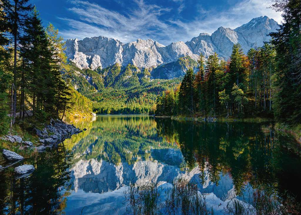 eib lake in germany 1000 picece puzzle by Ravensburger eibe-lake-gremany