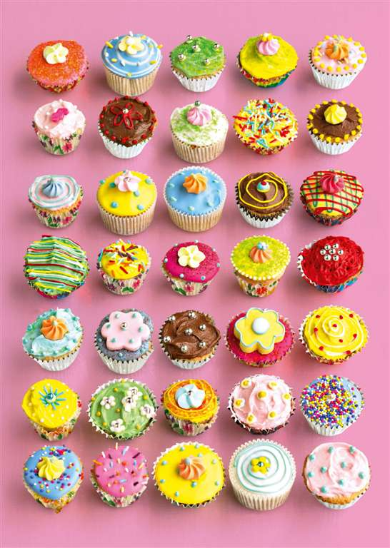 Jigsaw Puzzle 1000 pieces pretty cupcakes with gloos effect by Shooter Studios Ltd. manufactured by  pretty-cupcakes