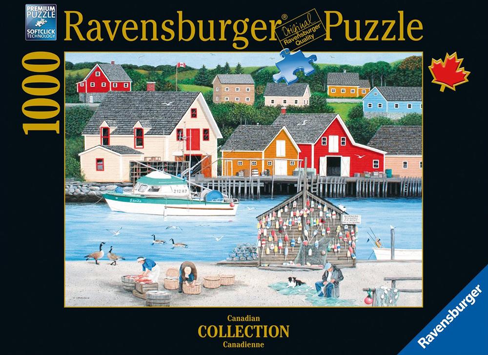 Ravensburger Jigsaw Puzzle Fisherman 39 S Cove Puzzel Item 195480