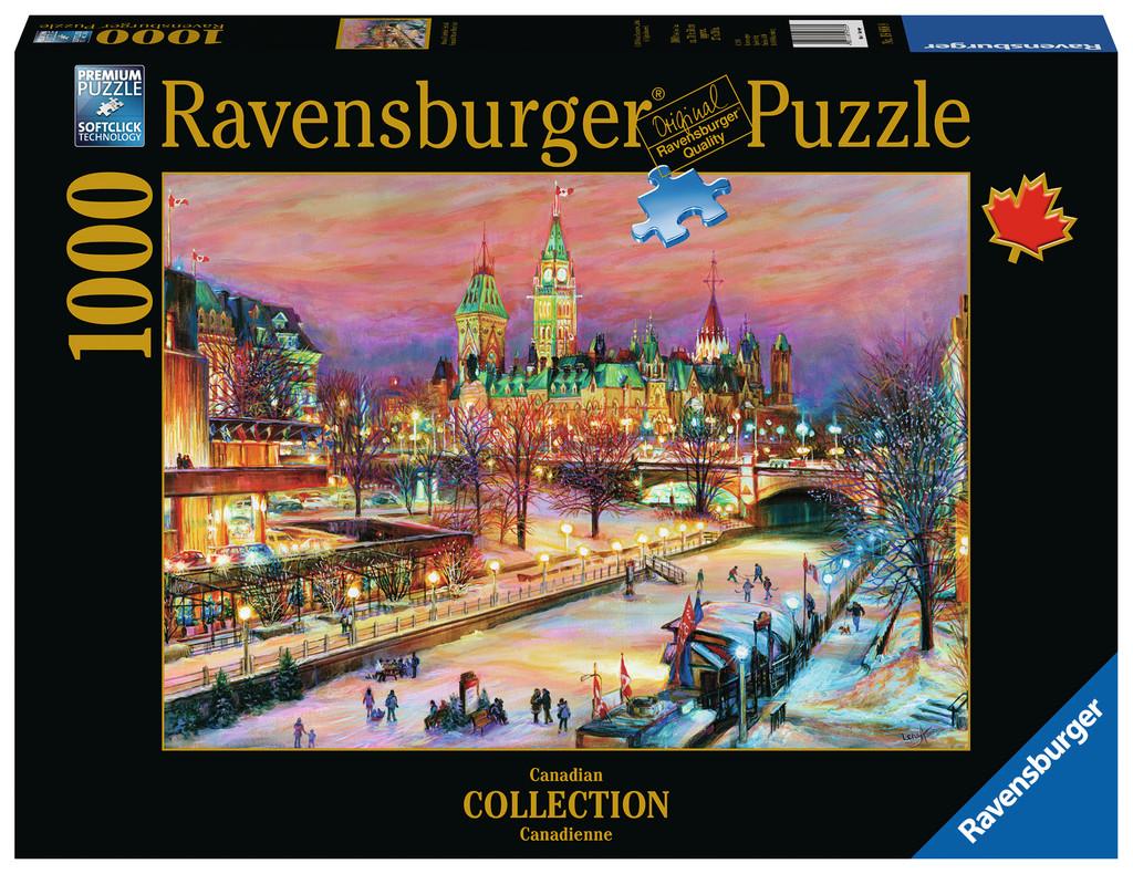 Ravensburger Jigsaw Puzzle Ottawa Winterlude Festival