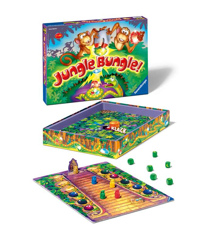 jungle bungle board game find the monkeys treasure and save the monkeys jungle-bungle